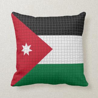 Flag of Jordan Cushion