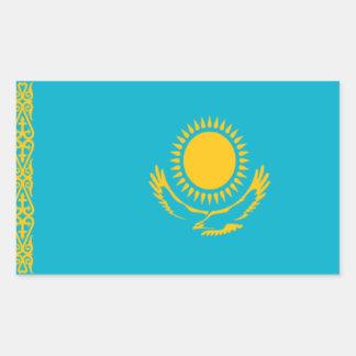 Flag of Kazakhstan Rectangular Sticker