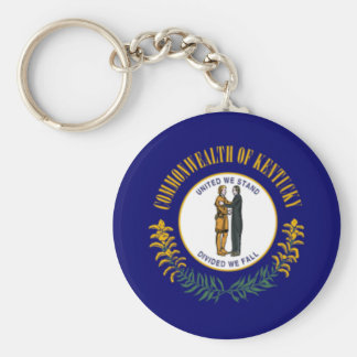 Flag of Kentucky Key Ring