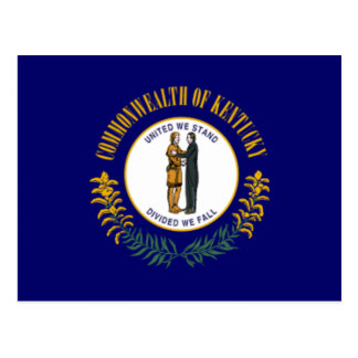 Flag of Kentucky Postcard