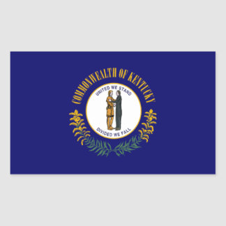 Flag of Kentucky Rectangular Sticker
