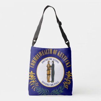Flag of Kentucy Tote Bag