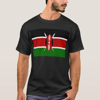 Flag of Kenya Africa T-Shirt