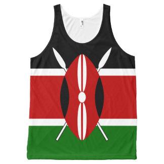 Flag of Kenya All-Over Print Tank Top