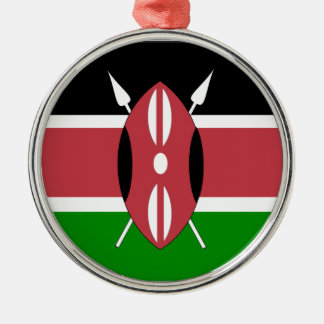 Flag of Kenya Christmas Ornament
