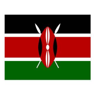 Flag of Kenya Postcard