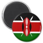 Flag of Kenya Refrigerator Magnets