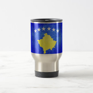 Flag of Kosovo Travel Mug