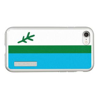 Flag of Labrador Silver iPhone Case