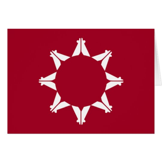 Flag of Lakota Pine Ridge Card