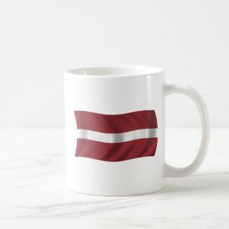 Flag of Latvia Coffee Mug