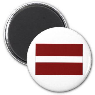 Flag of Latvia Magnet