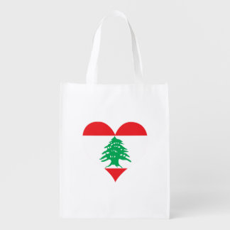 Flag of Lebanese on metal background