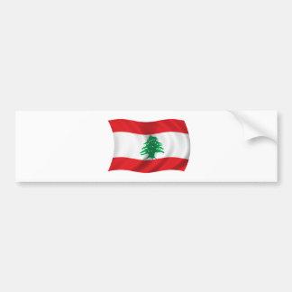 Flag of Lebanon Bumper Sticker