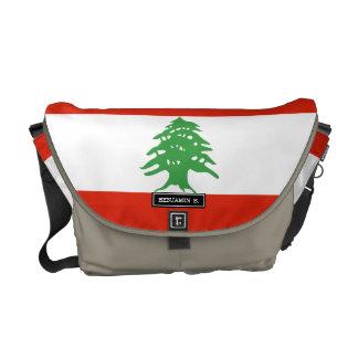 Flag of Lebanon Commuter Bag