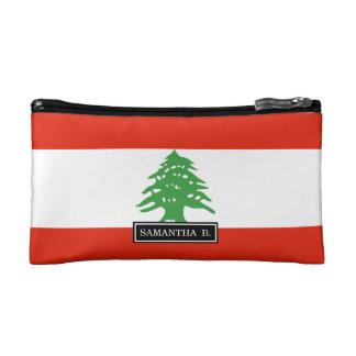Flag of Lebanon Cosmetic Bag