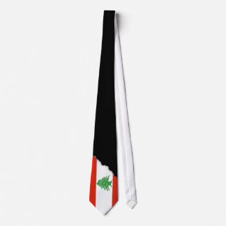 Flag of Lebanon Tie