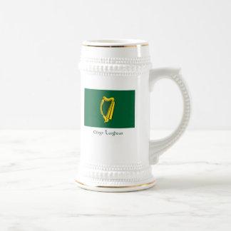 Flag of Leinster Beer Stein