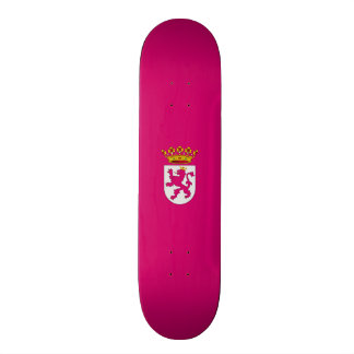 Flag of Leonese Nationalism Skateboard Deck