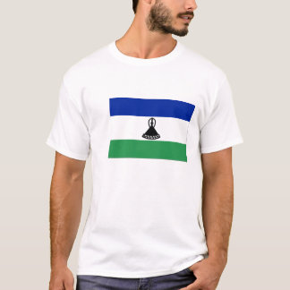 Flag of Lesotho Mens T-Shirts