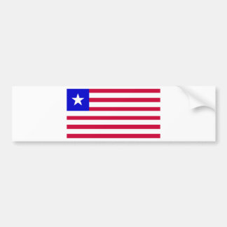 Flag of Liberia Bumper Sticker