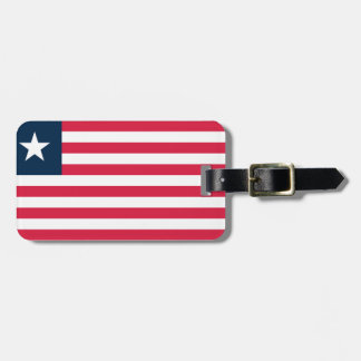 Flag of Liberia Easy ID Personal Bag Tag