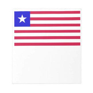 Flag of Liberia Notepad