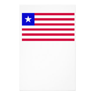 Flag of Liberia Personalised Stationery