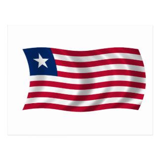 Flag of Liberia Postcard