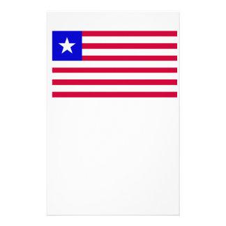 Flag of Liberia Stationery
