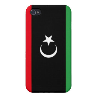 Flag of Libya iPhone 4/4S Covers