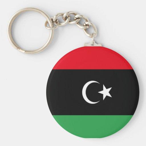 Flag of Libya Key Chain