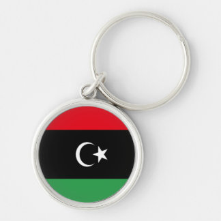 Flag of Libya Key Chain