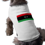 Flag of Libya Pet Shirt