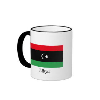 Flag of Libya Ringer Mug