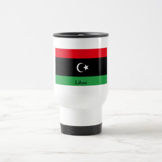 Flag of Libya Stainless Steel Travel Mug