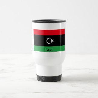 Flag of Libya Stainless Steel Travel Mug