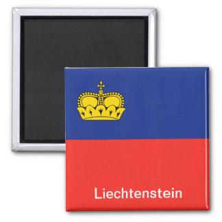 Flag of Liechtenstein Magnet