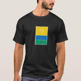 Flag of Life/USA Christian Flag t-shirt
