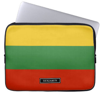 Flag of Lithuania Laptop Sleeve