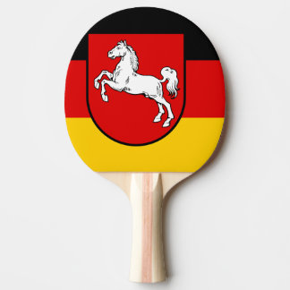 Flag of Lower Saxony Ping Pong Paddle