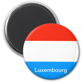 Flag of Luxembourg Magnet