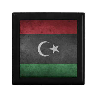 Flag of Lybia Small Square Gift Box