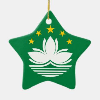 Flag of Macau Christmas Ornament