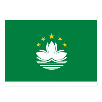 Flag of Macau Postcard