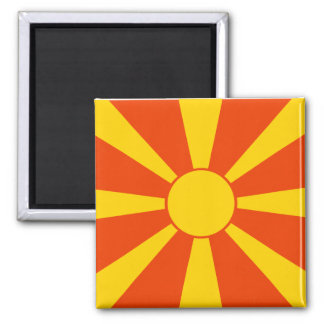 Flag of Macedonia Magnet