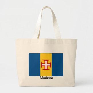 Flag of Madeira Jumbo Tote Bag