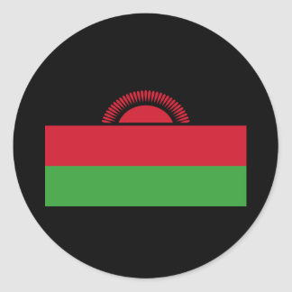 Flag of Malawi Round Sticker