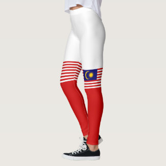 Flag of Malaysia Leggings