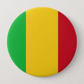 Flag of Mali 10 Cm Round Badge
